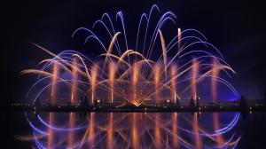 photo photographie château de vaux le vicomte feux d'artifice photographe Serge Decoster