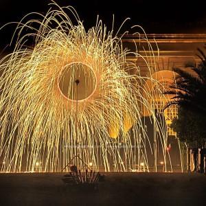 photo, photographie, feu d'artifice, château de versailles, l'orangerie photographe Serge Decoster photos feux d'artifice
