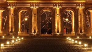 photo, photographie, château de versailles, le péristyle du Grand Trianon photographe Serge Decoster photos feux d'artifice
