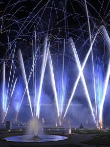 photo, photographie, feu d'artifice, château de Versailles, le parterre de latone photographe Serge Decoster photos feux d'artifice