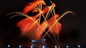 photo phographie CERGY feux d'artifice photographe Serge Decoster photos feux d'artifice