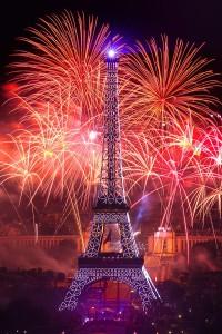photo 445, photographie paris 14 juillet 2013 photographe Serge Decoster photos feux d'artifice Société Fêtes et Feux
