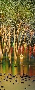 photo photographie ANNECY la fête du lac photos feux d'artifice