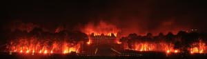 photo photographie Le Grand Feu de Saint Cloud photos feux d'artifice photographe Serge Decoster