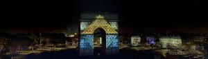 photo - photographie - image - Serge Decoster - Paris - Arc de Triomphe - société Les Petits Français - société Grand Final -