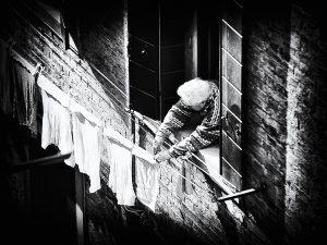 venice,venise,venezia, black and white photography, photographer Serge Decoster,