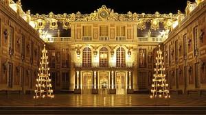 photo photographie château de versailles la cour de marbre photographe Serge Decoster photo feux d'artifice