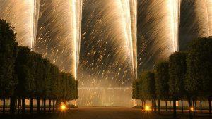 photo photographie château de Versailles le Grand Trianon photographe Serge Decoster photo feux d'artifice