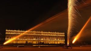 photo, photographie, feu d'artifice, château de Versailles, le parterre d'eau photographe Serge Decoster photo feux d'artifice