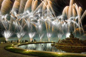 Soirée privée au château de Versailles : Le parterre d'eau
