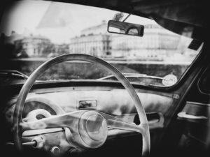 paris, photo noir et blanc, quai de l'horloge