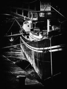paris, photo noir et blanc, pont de sully,
