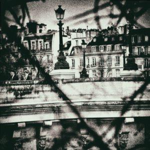 paris, photo noir et blanc, le pont neuf,