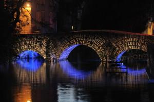 photo, photographie,Chartres en lumières, - Pont Guillaume photographe Serge Decoster