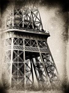 Paris - Tour Eiffel - Noir et Blanc _