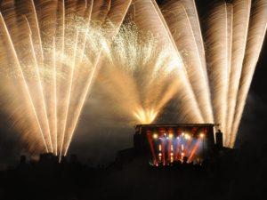 Chartres, photo,Société Fêtes & Feux, feu d'artifice 14 juillet, concert SINCLAIR, société Fêtes et Feux,