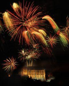 chateauneuf-sur-cher, photo, feu d'artifice,