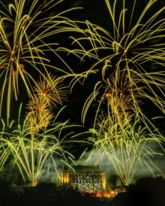 chateauneuf-sur-cher, photo, feu d'artifice,