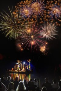 photo- image - Talloires - Les pyroconcerts